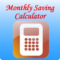 Monthly-saving-Calculator